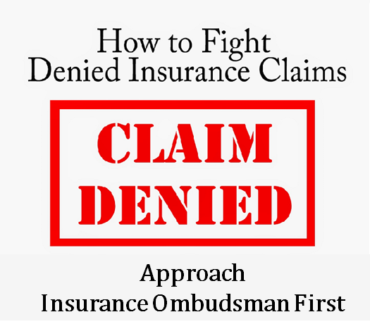 [insurance claim]s advice]
